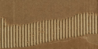 Cardboard detail. Old Cardboard Scrap. Old torn cardboard paper. Corrugated cardboard texture. Image of cardboard texture. Good design element. A carton board Royalty Free Stock Images