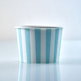Cardboard disposable food tub for takeaways royalty free stock image