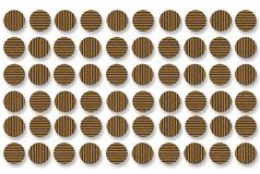 Cardboard Dots Background Royalty Free Stock Photos