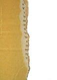 Cardboard edge Stock Images