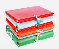 Cardboard folders Stock Photo