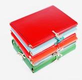 Cardboard folders a Stock Image