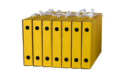 Cardboard folders for papers Royalty Free Stock Image