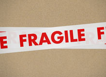 Cardboard - Fragile Royalty Free Stock Photos