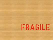 Cardboard / Fragile Royalty Free Stock Photos