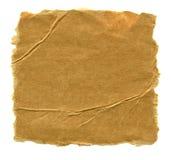 Cardboard fragment Stock Images