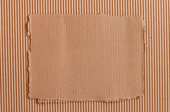 Cardboard frame Royalty Free Stock Photo
