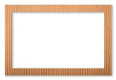 Cardboard frame Royalty Free Stock Photography