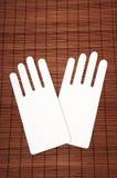 Cardboard hands Stock Photography