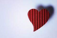 Cardboard heart shape Stock Photo
