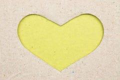 Cardboard hearts do Royalty Free Stock Photos