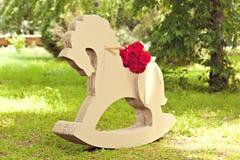 Cardboard horse Royalty Free Stock Image