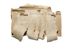 Free Cardboard Isolated On White. Stock Image - 8284761