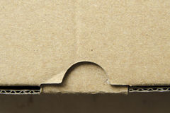 Cardboard lock Stock Image