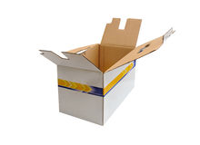 Cardboard pack Royalty Free Stock Photos