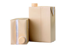 Cardboard package Stock Photography