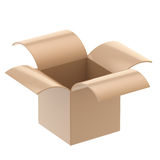 Cardboard package box isolated Stock Image