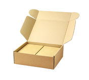 Cardboard Package Boxes Stock Photos
