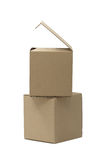 Cardboard Packages Royalty Free Stock Image