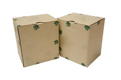 Cardboard Packages Stock Photography