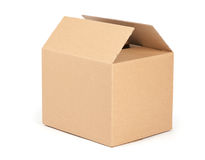 Cardboard packaging box Royalty Free Stock Image