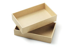 Cardboard Packaging Box Stock Images