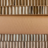 Cardboard packaging Stock Image