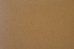 Cardboard packaging. Texture or background cardboard sheet Royalty Free Stock Photography