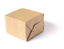 Cardboard packing Stock Photo