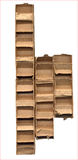 Cardboard Packing Material Stock Photography