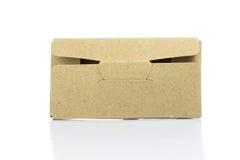 Cardboard paper box Stock Image