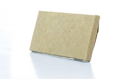 Cardboard paper box Royalty Free Stock Photos