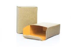 Cardboard paper box Stock Photo
