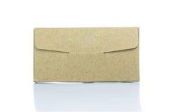 Cardboard paper box Royalty Free Stock Photos