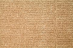 Cardboard paper texture blank background. Brown color vintage pattern empty papercraft surface. copy space stock photography