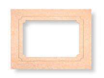 Cardboard passepartout Royalty Free Stock Photos