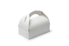Cardboard Pastry Box Royalty Free Stock Photography