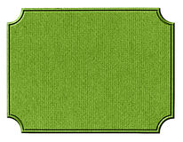 Cardboard pattern. Rough green cardboard with relief edges Royalty Free Stock Photos
