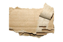 Cardboard photo. Royalty Free Stock Photo