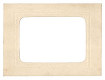 Cardboard photo frame Stock Photos