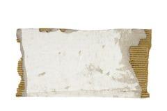 cardboard piece torn Στοκ Φωτογραφίες