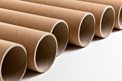 Cardboard pipe Royalty Free Stock Image