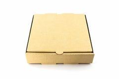 Cardboard pizza box. Stock Photography