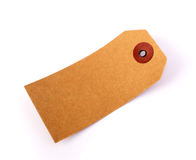 Cardboard price label note Royalty Free Stock Photos
