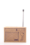 Cardboard radio Stock Image