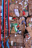 Cardboard for Recycling Stock Images