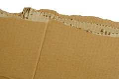 Cardboard rip Stock Photo