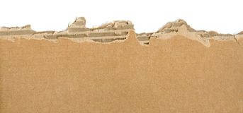 Cardboard ripped Royalty Free Stock Image