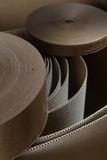 Cardboard and rolls 2 Royalty Free Stock Photography