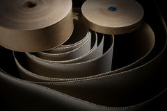 Cardboard and rolls Stock Images